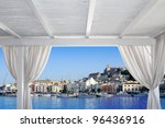 Ibiza Town View From White...