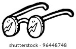 cartoon spectacles | Shutterstock . vector #96448748