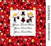 magician card | Shutterstock .eps vector #96463643