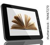 book and teblet computer 3d... | Shutterstock . vector #96467270