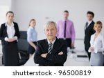 business people  team  at a... | Shutterstock . vector #96500819