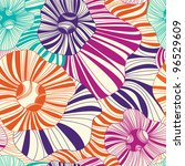 seamless floral pattern on a... | Shutterstock .eps vector #96529609
