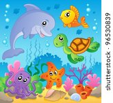 image with undersea theme 2  ... | Shutterstock .eps vector #96530839