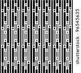 retro lines of black and white | Shutterstock .eps vector #96545635