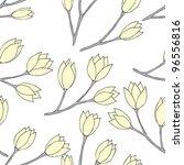 Seamless Pattern With Yellow...