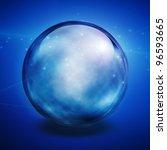 crystal ball | Shutterstock . vector #96593665