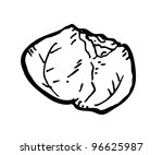 cabbage doodle   Shutterstock .eps vector #96625987