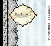 Silver And Beige Label With...