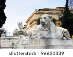 Lions  Fountain  Piazza Del...