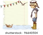 Vector Frame  Background  Of A...