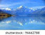 Aoraki Mount Cook And Lake...