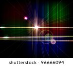 abstract shiny vector... | Shutterstock .eps vector #96666094