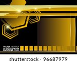 abstract vector background | Shutterstock .eps vector #96687979
