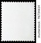 blank postage stamp framed by... | Shutterstock . vector #96734614