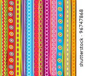 Colorful Strip  Abstract...