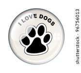 show your love for dogs with...   Shutterstock .eps vector #96756013