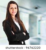 young businesswoman portrait | Shutterstock . vector #96762220