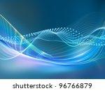 Light Wave Background Suitable...