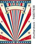vintage america. a vintage... | Shutterstock .eps vector #96807838