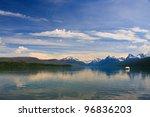 Lake Mcdonald In Glacier...