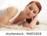 beautiful woman   Shutterstock . vector #96851818