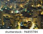 buildings in Monte Carlo, Monaco - stock photo