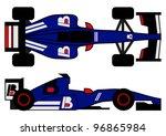 formula car design | Shutterstock .eps vector #96865984