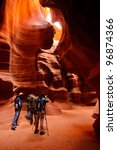 Photographers In Antelope Canyon