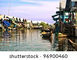 The Village On The Water. Tonle ...