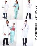 health staff | Shutterstock . vector #96949790