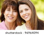 portrait hispanic mother and...   Shutterstock . vector #96964094