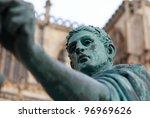 Statue Of Constantine I Outsid...