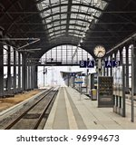 classicistical railway station | Shutterstock . vector #96994673
