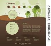 website design   Shutterstock .eps vector #96996050