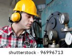 engineer at work | Shutterstock . vector #96996713