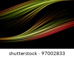 fantastic powerful background... | Shutterstock . vector #97002833