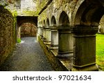 Interior Of The Ross Friary In...