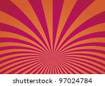 abstract curved stripes... | Shutterstock . vector #97024784