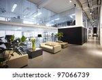 modern office interiors  | Shutterstock . vector #97066739