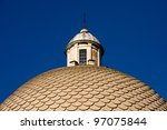 Cupola of the church in Pisa. Italy - stock photo