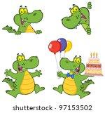 Crocodile Cartoon Characters....