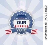 vector button  banner for... | Shutterstock .eps vector #97175060