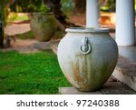 Big Ancient Vase In Greek Styl...