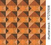 abstract textured wooden ... | Shutterstock .eps vector #97270508