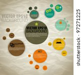 vector of template for icons... | Shutterstock .eps vector #97271225