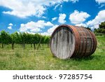 wine  wine barrel and...