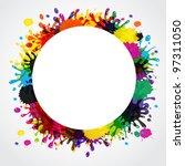 splash abstract background.... | Shutterstock . vector #97311050
