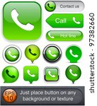 Phone Green Design Elements Fo...