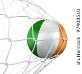 3d rendering of a irish soccer... | Shutterstock . vector #97403510