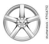 car alloy wheel | Shutterstock . vector #97416752